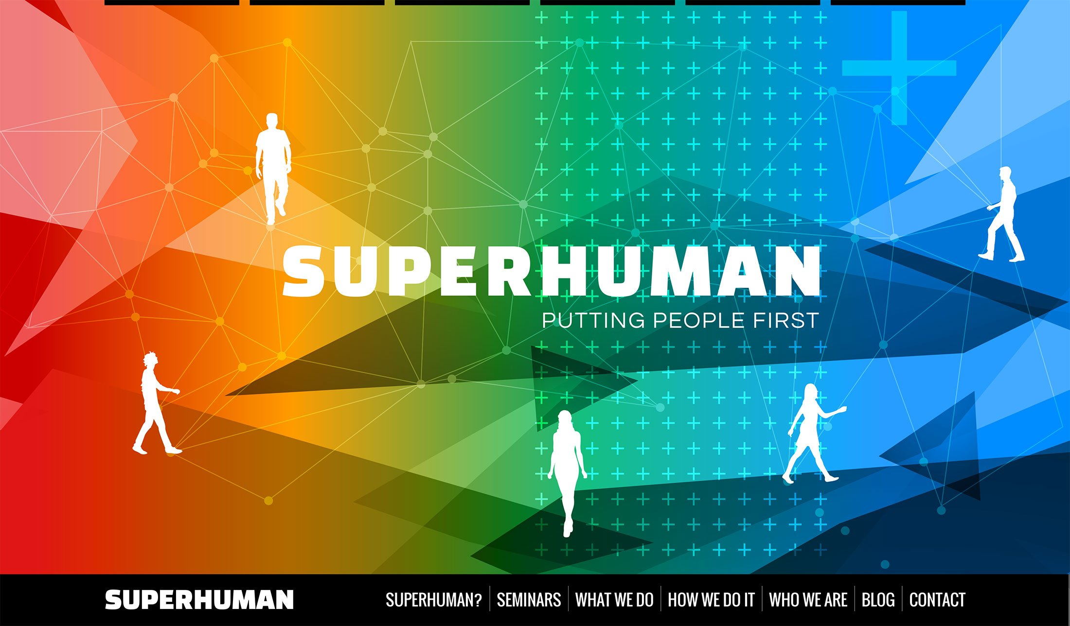 SuperHuman - Illustration - Website Design Development